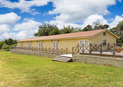 Suites 6-9 Exterior | Coyote Station Roundtop Texas